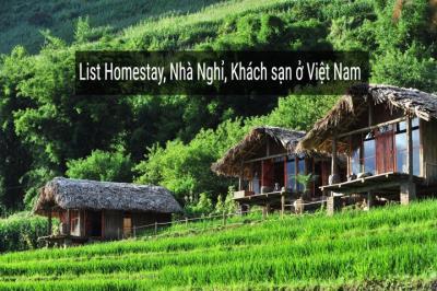Danh sách Homestay Hòa Bình
