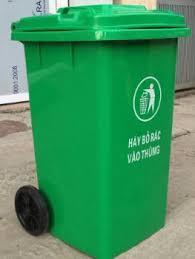 Chuyên bán thùng rác 240 lít tại Đà Nẵng- Quảng Nam giá rẻ 0905681595
