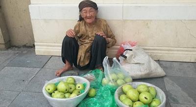 Cụ già 89 tuổi bán ổi và sự thật thà khiến nhiều người cảm phục