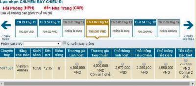 Vietnamairlines Ưu đãi đặc biệt nhân dịp khai trương đường bay mới Nha Trang - Hải Phòng với giá chỉ từ 799000đ