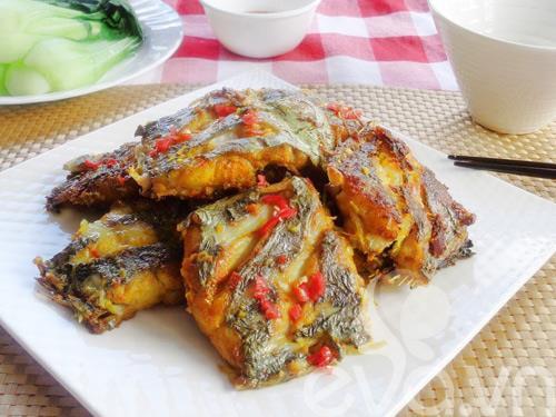 Hướng dẫn làm món cá hố chiên sả ớt cực ngon