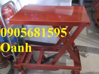 Quảng Nam Bán xe nâng mặt bàn- xe nâng chậu cảnh giá rẻ 0905681595