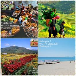 Những cảnh đẹp tuyệt vời của Việt Nam, tuyệt đối không phải ở Tây ở Tàu!