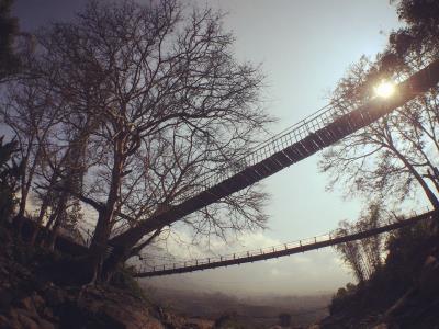 Cầu Mây nơi hoài niệm dội về