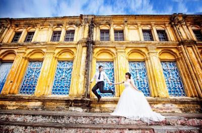 ถ่ายภาพงานแต่งงานถนนที่สวยที่สุด Nam Dinh