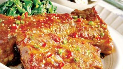 Cách làm món bò nướng mù tạt cho bữa trưa thêm vui vẻ