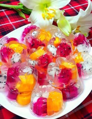 Cách làm thạch hoa quả ngọt mát cho ngày hè nắng nóng