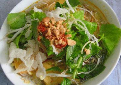 Lạ miệng với món chay bún xứ Huế