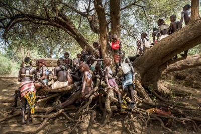 Những bộ tộc bí ẩn ở Ethiopia