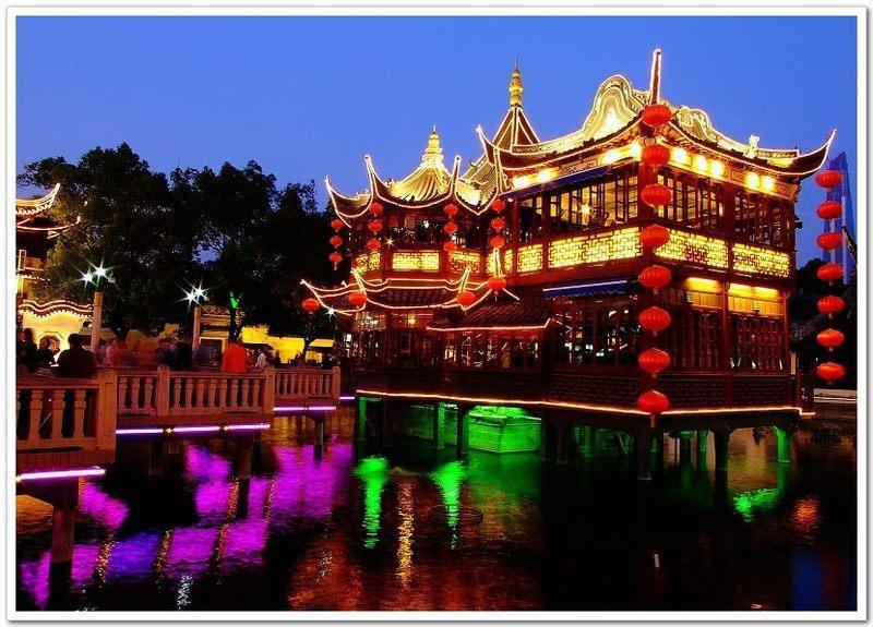 花园,上海 - 对于剑术电影迷的旅游目的地