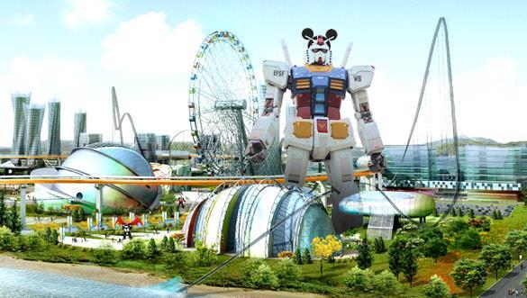 Khám phá công viên Robot đầu tiên trên thế giới ở Hàn Quốc