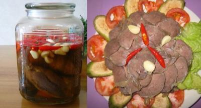 Hướng dẫn cách làm bắp bò ngâm mắm giấm chua ngọt để được lâu