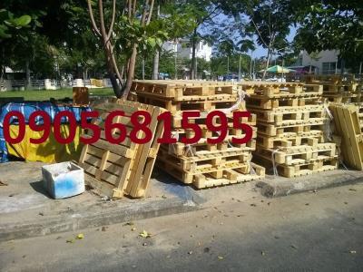 Bán nhanh Pallet gỗ giá rẻ Miền Trung 0905681595