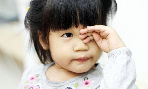 Children with pinkeye what diet?