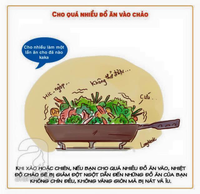 tổng hợp các mẹo hay nấu ăn và làm bếp