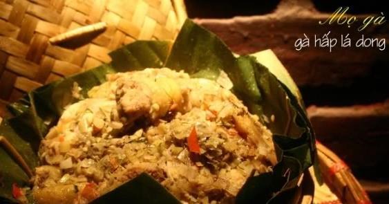 Hướng dẫn làm món gà Mọ của đồng bào dân tộc Thái ở Sơn La