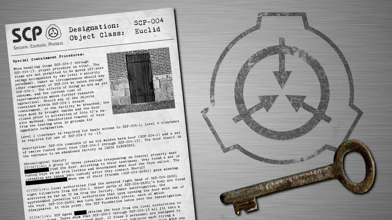 Bí ẩn SCP-004: 12 Chìa Khóa Gỉ Sét và Cánh Cửa