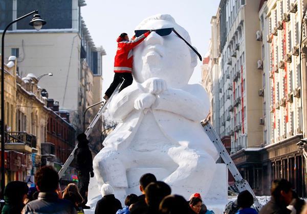 Lễ hội băng đăng lộng lẫy ở Trung Quốc