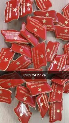 cơ sở làm huy hiệu đảng bộ, sản xuất huy hiệu đại biểu biểu, bán huy hiệu lá cờ đảng