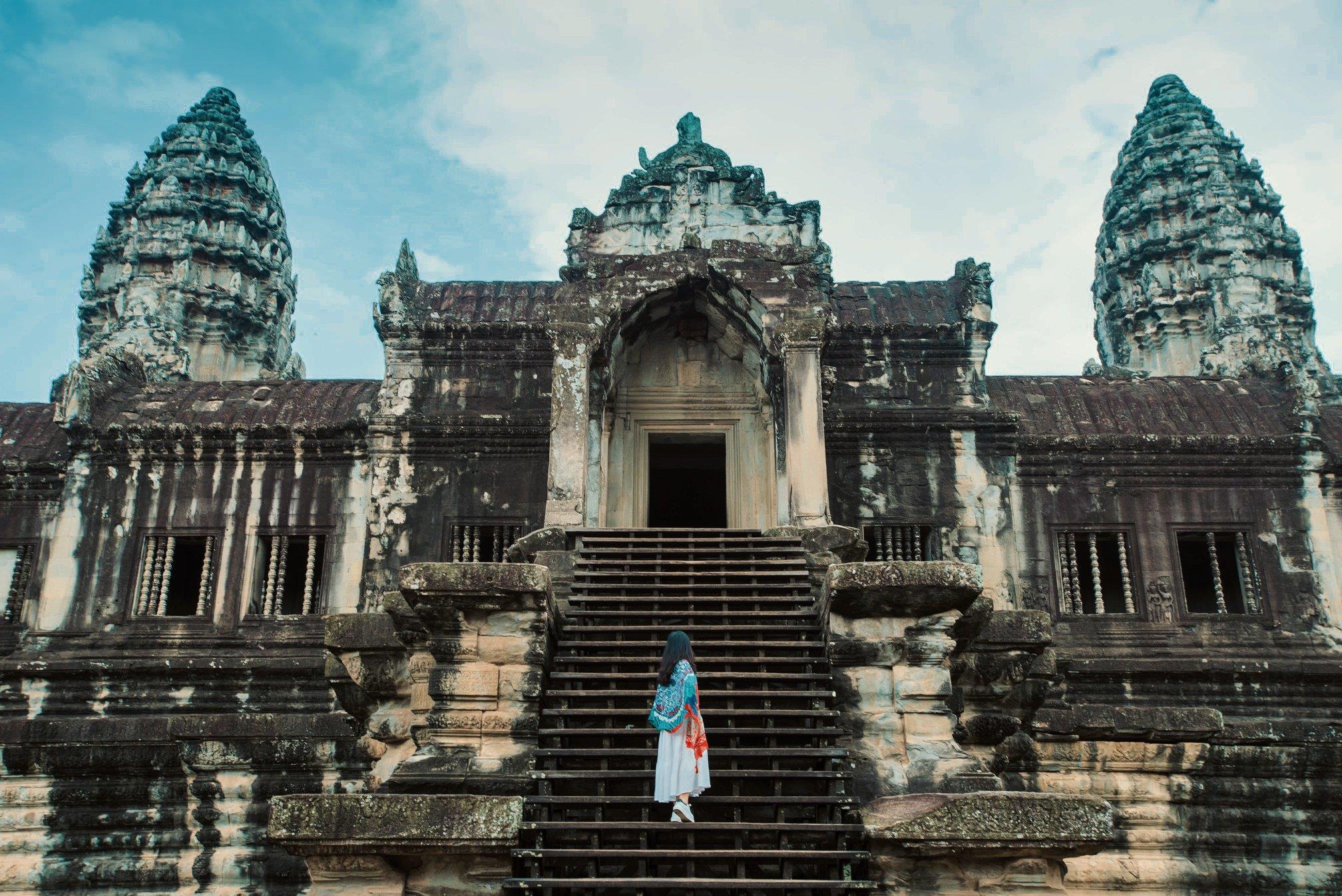 """Bức ảnh thương hiệu """"Bình minh Angkor"""