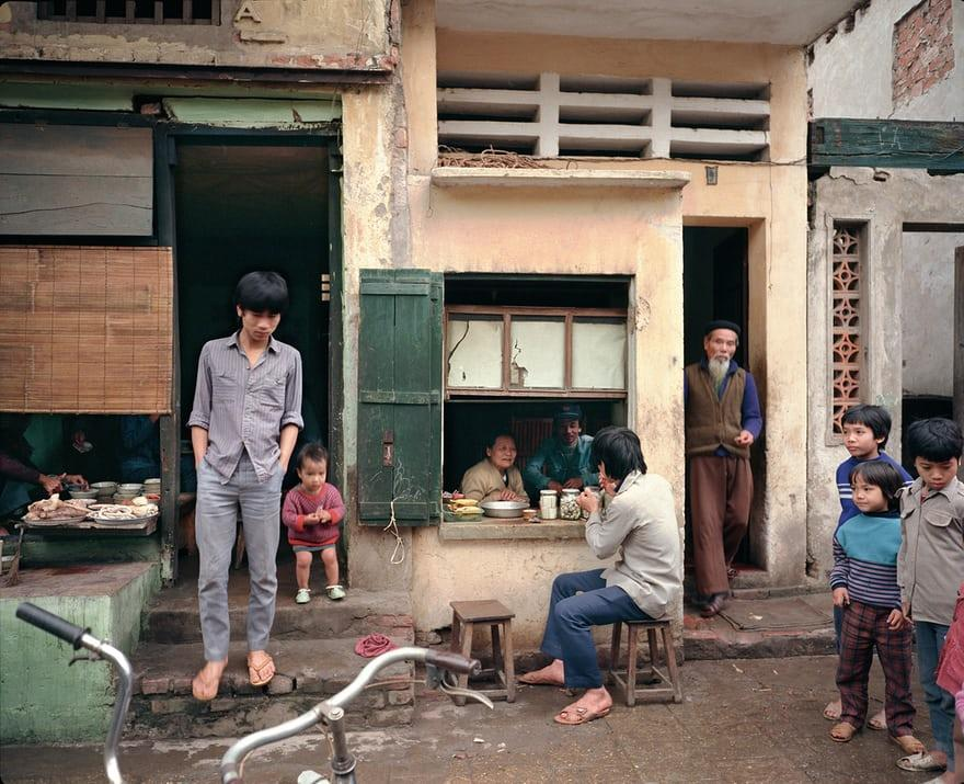 Loạt ảnh về Hà Nội 36 phố phường - 30 năm kể từ sau chiến tranh 1985 - 2015