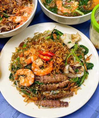 Miến hải sản 50k ngõ 21 Phạm Ngọc Thạch