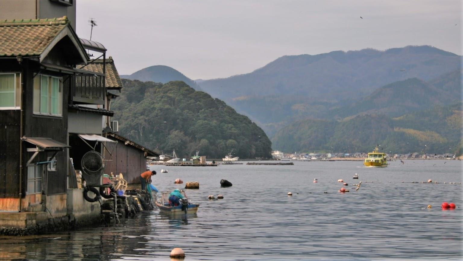 Thị trấn nổi Ine – Venice phiên bản Nhật đẹp như mơ