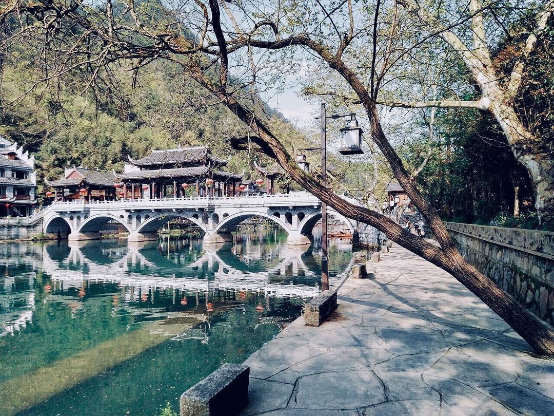 Phượng Hoàng Cổ Trấn - Đại diện cho vẻ đẹp văn hóa Trung Hoa