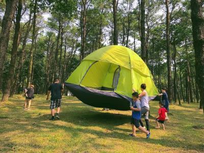 Dịch vụ cho thuê lều trại tại Vườn Quốc gia Ba Vì