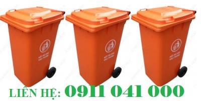 Thùng rác nhựa HDPE giá rẻ lh 0911.041.000