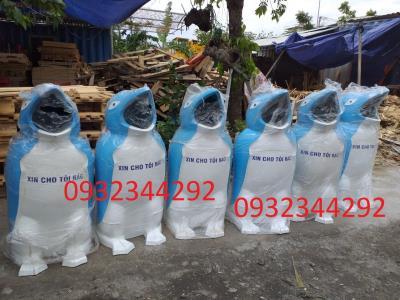 Thanh lý thùng rác chim cánh cụt sót kho giá rẻ 0905568292