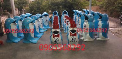 Thanh lý thùng rác hình thú sót kho 0905568292