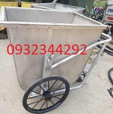 Xe đẩy rác 500L giá rẻ tại Quảng Ngãi
