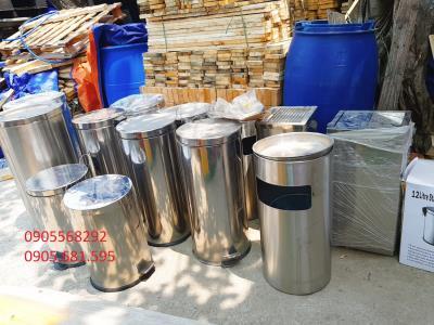 Thùng rác inox giá rẻ tại Huế