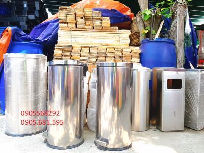 Thùng rác y tế inox , thùng rác inox các loại giá rẻ tại Đà Nẵng 0932344292